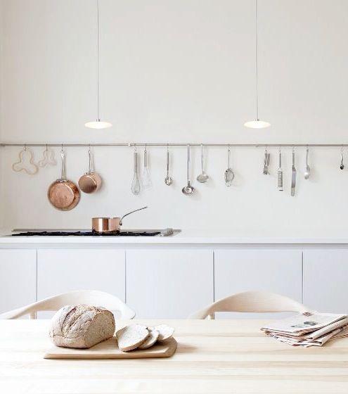 Scandinavian minimal kitchen