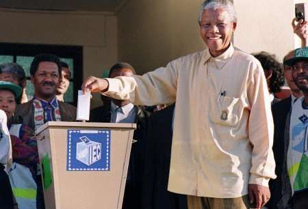 1st all race elections in south africa 1994 - Google Search
