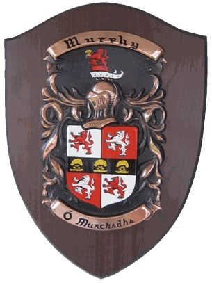 Extra Large Family Shield Coat of Arms Plaque