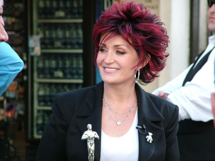 I adore her & her hair color. Sharon Osbourne (Don't tap on picture. Back when I pinned this there was nothing obscene, but clearly there is now. Actually may have found it on Google & never went to the site itself. Sorry!)