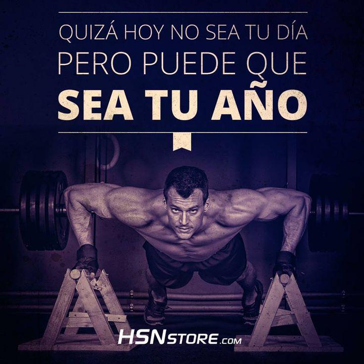 Quizás hoy no sea tu día pero puede que sea tu año. #fitness #motivation #motivacion #gym #musculacion #workhard #musculos #fuerza #chico #chica #chicofitness #chicafitness #sport