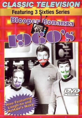 Classic Television: Blooper Bonanza 1960s (featuring Laugh-In McHales Navy Star Trek) @ niftywarehouse.com #NiftyWarehouse #StarTrek #Trekkie #Geek #Nerd #Products