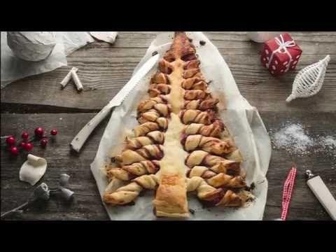 NapadyNavody.sk | Hit tohtoročných Vianoc: Video recepty na jedlé stromčeky z lístkového cesta