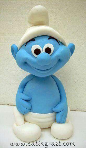 Smurf dude