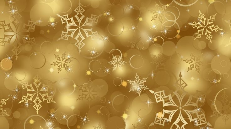 New HD Wallpaper Gold Sparkle
