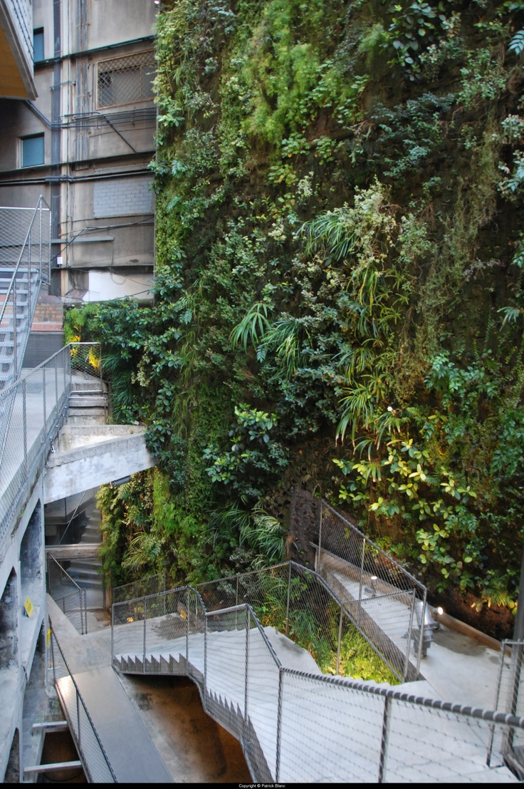 17 mejores im genes sobre jardines verticales en pinterest for Jardines verticales barcelona