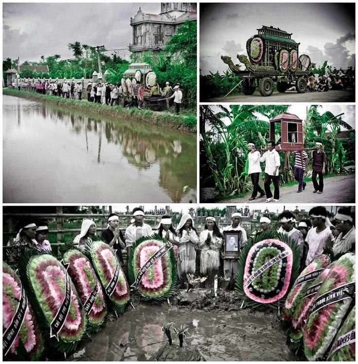Похороны во Вьетнаме, фотограф Francis Roux, сайт: http://www.francisrouxphotography.com