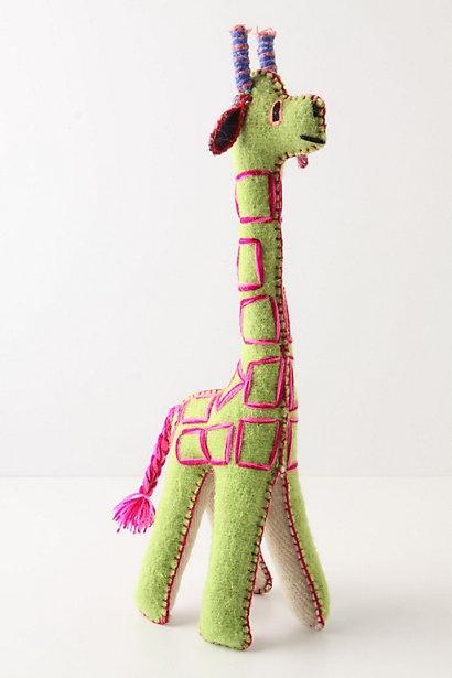 anthropologie gentle giraffe