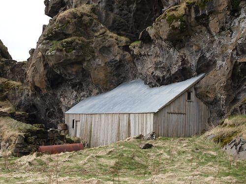Barn in Iceland