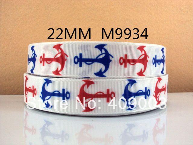 10Y9934 kerryribbon free shipping 7/8 '' printed ribbon Grosgrain ribbon diy Hairbow Supplies, Etc.