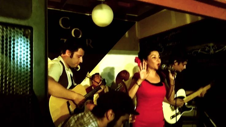Cherry Sue y Destilados - All I Can Do Is Cry. Live recording from the audicence
