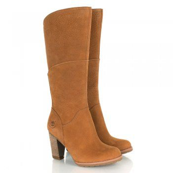 Timberland Medium Brown Stratham Heights Tall Womens Boot