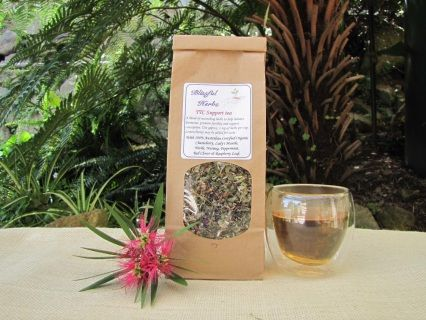 Trying To Conceive (TTC) Bliss Tea tea is a special blend of herbs to help balance hormones, promote fertility and support conception. It is rich in vital nutrients to nourish the female reproductive system. The adaptogen herbs support normal hormonal activity throughout the menstrual cycle.