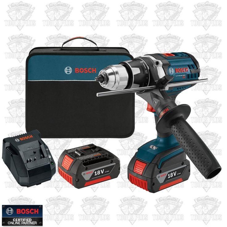 Bosch Tools DDH181X 01 18V Li Ion 1/2u0027u0027 Drill Driver