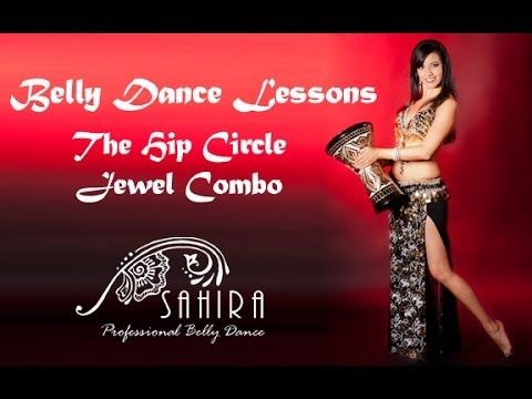 Belly Dance Lessons - Hip Circle Jewel Combination - YouTube
