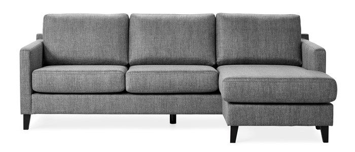 Produktbild - Tampa, 3-sits soffa med schäslong