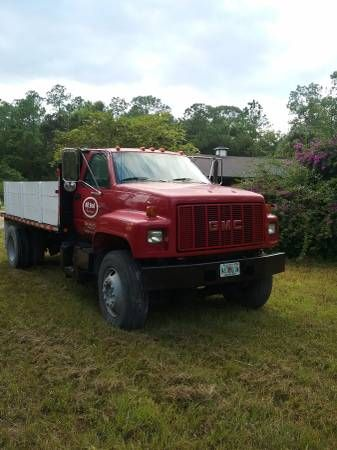 GMC truck for sale (Naples) $7800: 1996 GMC for sale in Exelente condition 300 hp caterpillar engine diesel Nanual transmition Guse neck &…