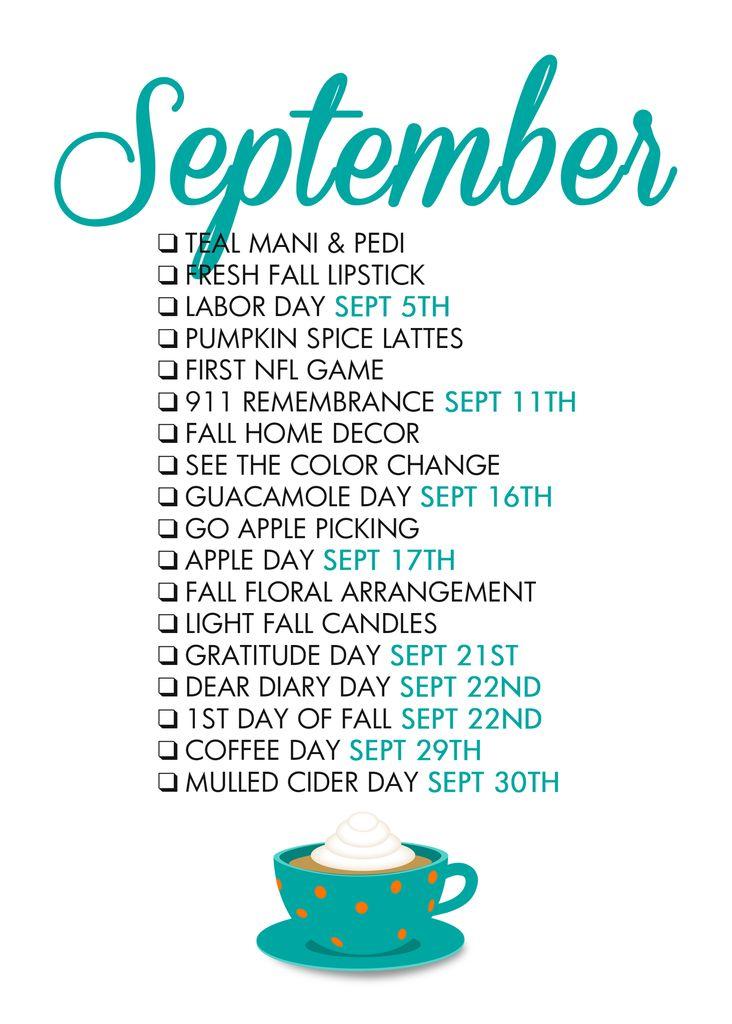 Seasonal Living – September – Paper & Glam