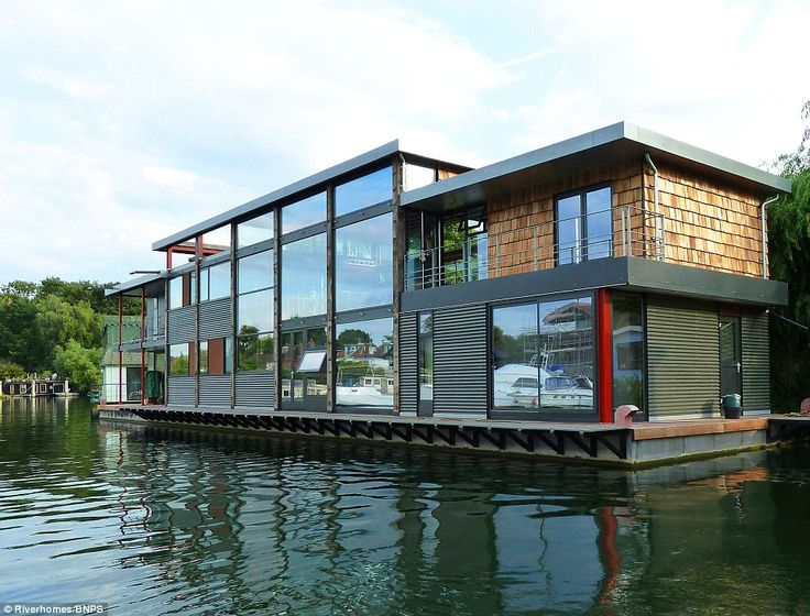 Five Bedroom Modernist Floating Home On Taggs Island, Hampton, Middlesex