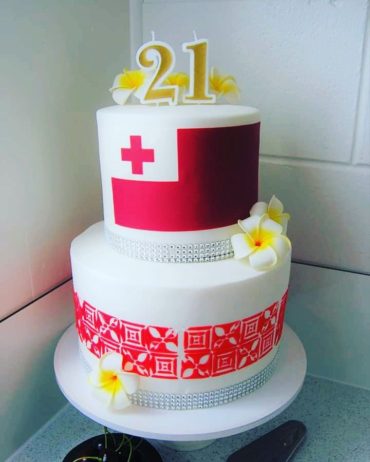 Tongan Cake Auckland 21st Cake Cake Polynesian Food