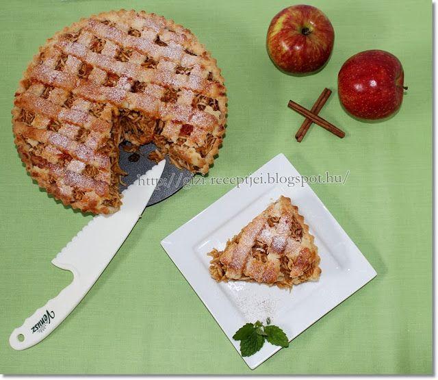 Gizi-receptjei. Várok mindenkit.: Almás pite gazdag töltelékkel.