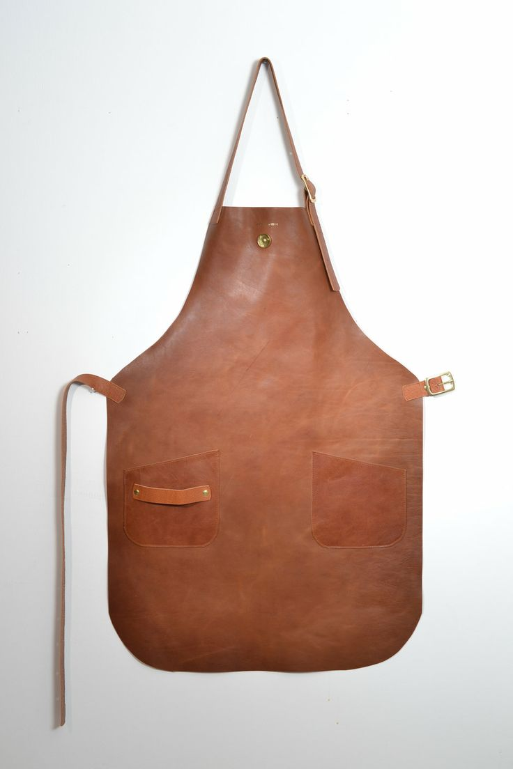 SALE Apron Leather Tan