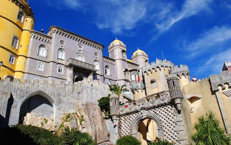 Fantastical Palacio de Pena, Sintra, Portugal