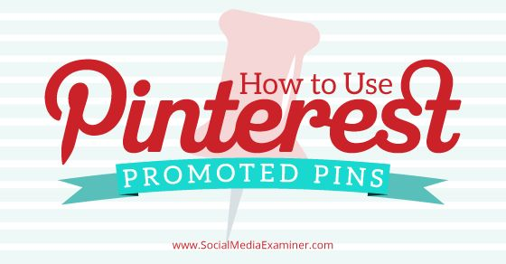 Are you using Pinterest as a part of your social media marketing plan? This article explains what promoted pins are, and gives tips on how, when and why to use them.