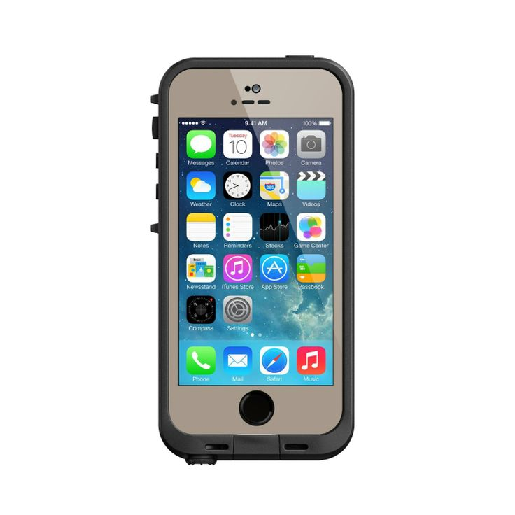 Amazon.com: Lifeproof iPhone 5S Fre Case-Olive Drab Green/Black - Carrying Case - Retail Packaging - Olive Drab Green/Black: Cell Phones & A...
