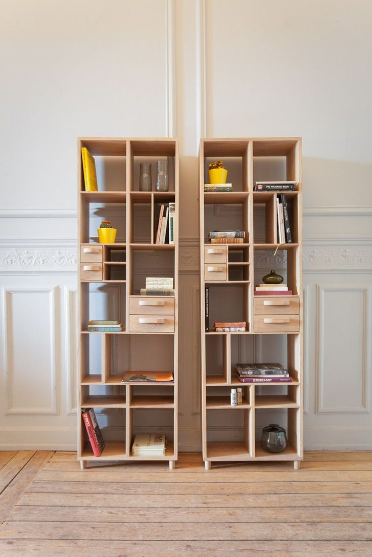 Open solid wood #bookcase PIROUETTE by MR MARIUS @mrmariusparis #design #pin_it @mundodascasas Veja mais aqui(See more here) www.mundodascasas.com.br