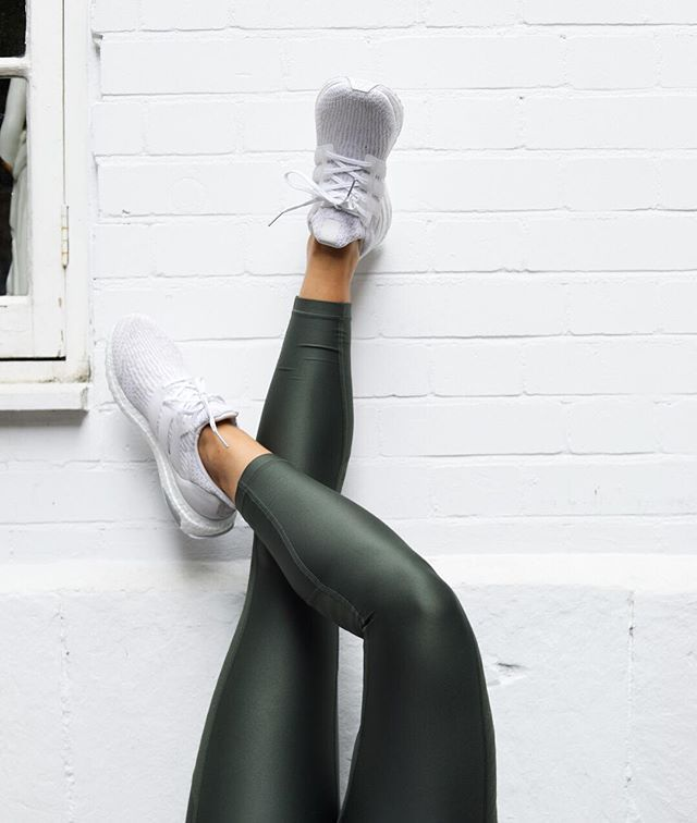 When you need a change from black or grey, the Supervent Crop leggings in khaki green is it! Hit www.activeinstyle.com to shop or head to our Kings Road store