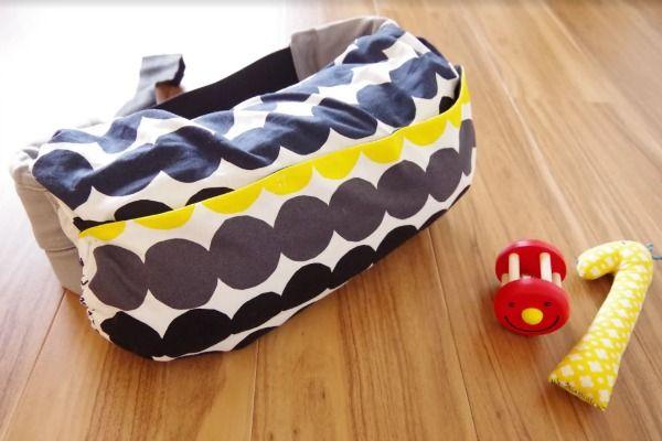 直線縫いが出来れば大丈夫!意外と簡単に作れるエルゴ収納カバーの作り方 | mamas job