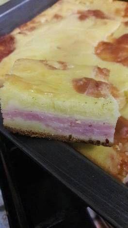 Torta de fiambre licuada sin gluten