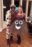 Adult halloween costume, poop emoji costume, funny halloween costume, costume for women, tutuhot tutu hot, adult tutu costume