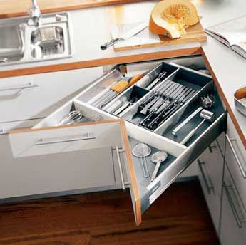 Small Spaces - Kitchen drawer (could use this in my flat)