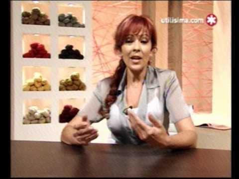 Tejidos Mabel Gomez - CARDIGAN - SMOKING EN DOS PIEZAS - YouTube