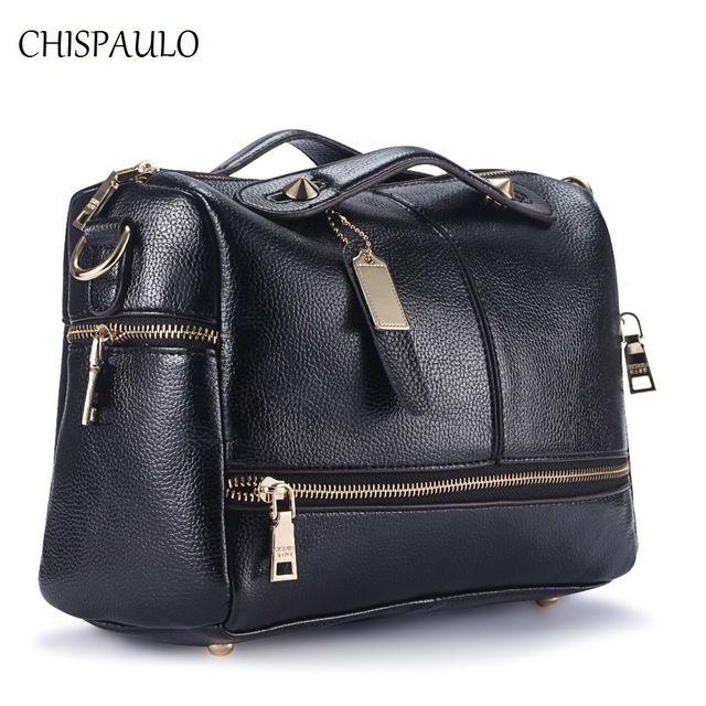 Today Offer $18.46, Buy Luxury Brand Women Bags 2017 NEW Designer Women Genuine Leather Handbags Retro Ladies Crossbody Bags For Women Messenger Bag X39