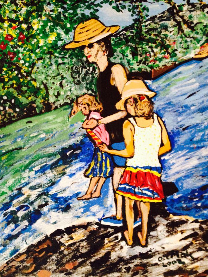 VACANCES en famille à la Fontaine de Vaucluse