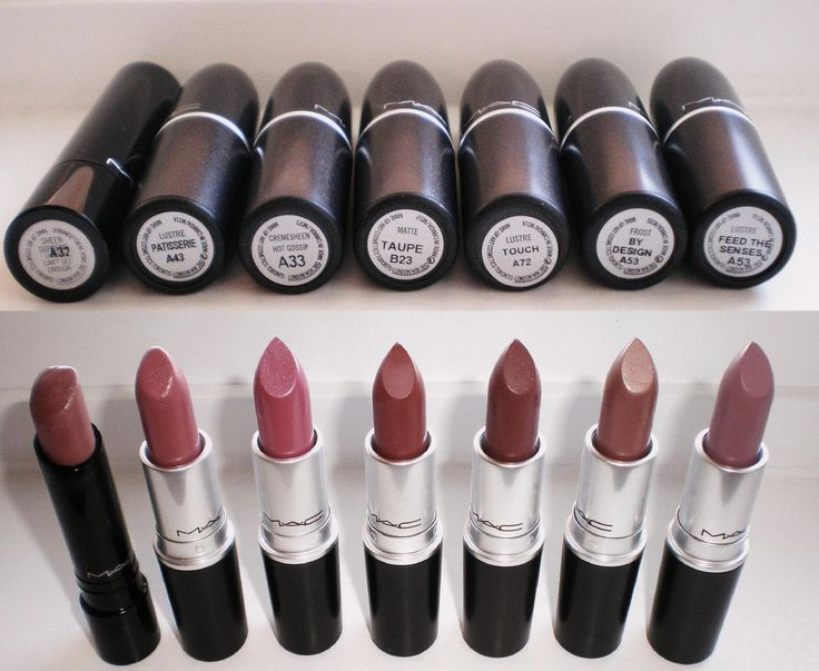 Lipsticks Diva Mac Sin And