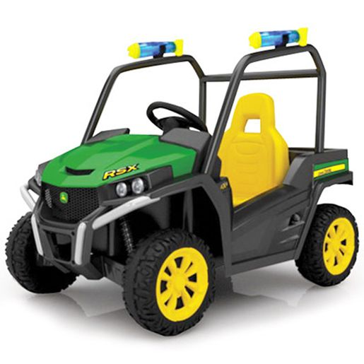John Deere 6 Volt Battery Operated Gator With Water Bazookas!