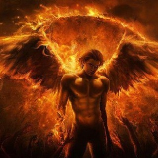.Male Angel has no fire fury only to care