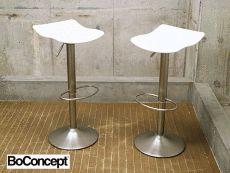 展示品 BoConcept ボーコンセプト Tuko トゥコ バースツール/カウンターチェア 2脚セット 美品