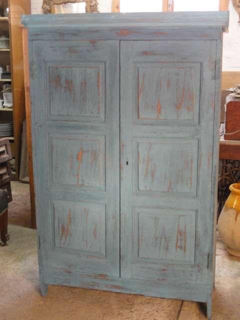 Las 25 mejores ideas sobre armario antiguo en pinterest - Armarios antiguos restaurados ...