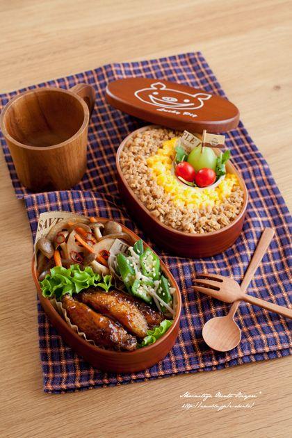 ♪ lunch of chicken Dzukushi
