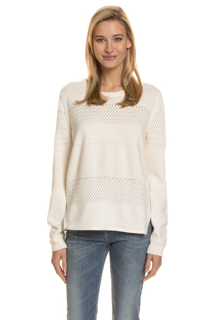 Armani Jeans Pullover, Rundkragen, gerader Schnitt beige Jetzt bestellen unter: https://mode.ladendirekt.de/damen/bekleidung/pullover/sonstige-pullover/?uid=1222fb9c-fcf5-501d-9086-2688a0f17abc&utm_source=pinterest&utm_medium=pin&utm_campaign=boards #sonstigepullover #pullover #tops #bekleidung Bild Quelle: brands4friends.de