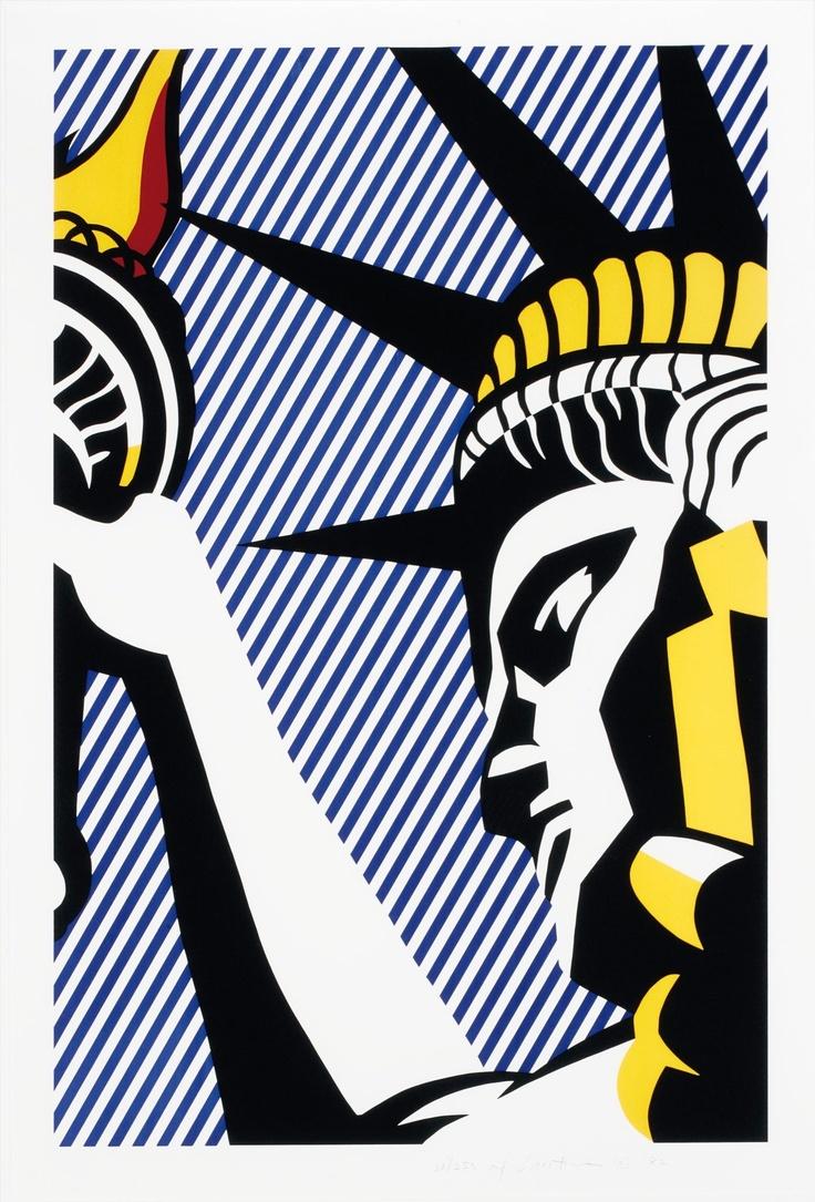 Roy Lichtenstein - I Love Liberty, 1982                                                                                                                                                                                 Mehr