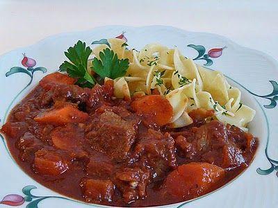 Magyar Gulyas ~ True Hungarian Goulash