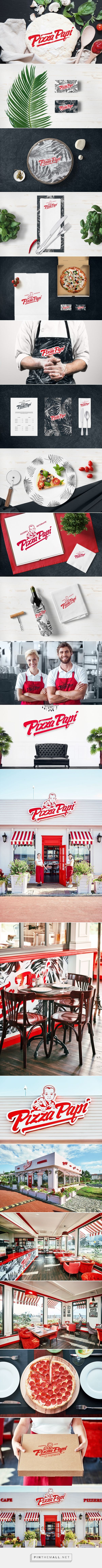 PIZZA PAPI Ristorante Branding by Alex Smart | Fivestar Branding Agency – Design and Branding Agency & Curated Inspiration Gallery