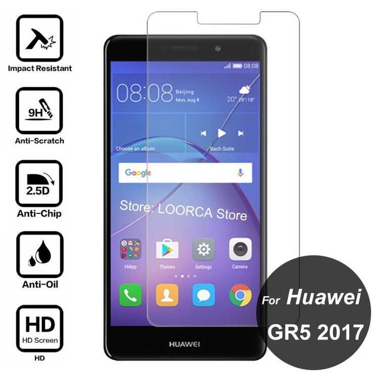 >> Click to Buy << For Huawei GR5 2017 Screen Protector 2.5D 9H Anti-Explosion Tempered Glass Protective Film On GR 5 BLL-L21 BLL-L22 BLL L21 L22 #Affiliate