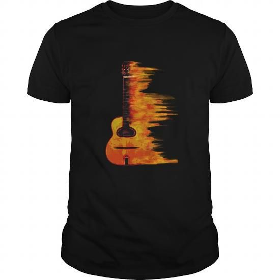 Awesome Tee Acoustic Jazz Guitar Two T shirt